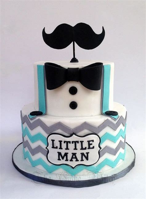 Baby Shower Mustache Cake by Moustache Baby Shower Cake The Cake Witch