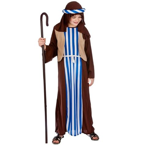 christmas nativity costumes kids joseph shepherd boys girls nativity christmas play