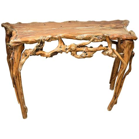 Driftwood Console Table Driftwood Console Table At 1stdibs