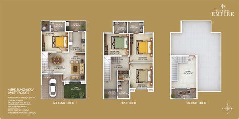 Bungalow Plans floor plans aishwarya empire aishwarya group