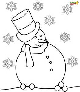 snowman coloring page free coloring pages of snowman