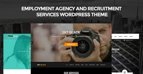 employment agency and recruitment services wordpress theme