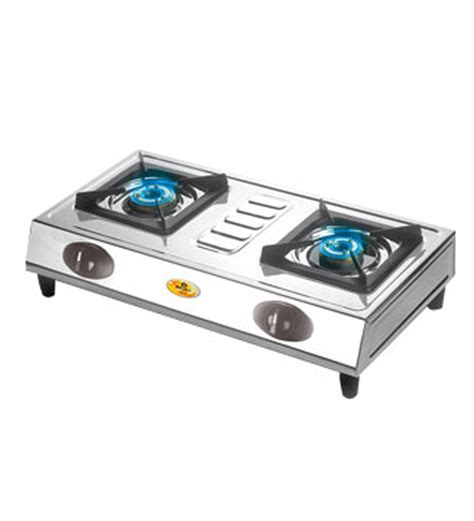 Two Burner Gas Cooktop Pepperfry Bajaj Cx3 2 Burner Gas Cooktop At Rs 1682