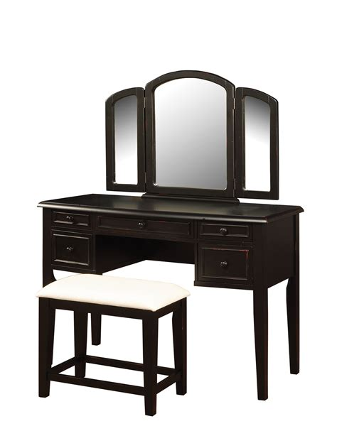 Bench With Mirror Vanity Mirror Bench Set Sears