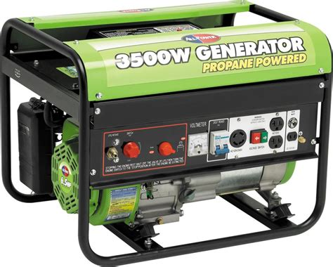 all power america 3500 watt peak 6 5hp ohv propane powered