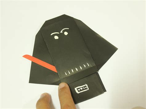 Origami Wars Finger Puppet - how to fold origami wars character finger puppets 9