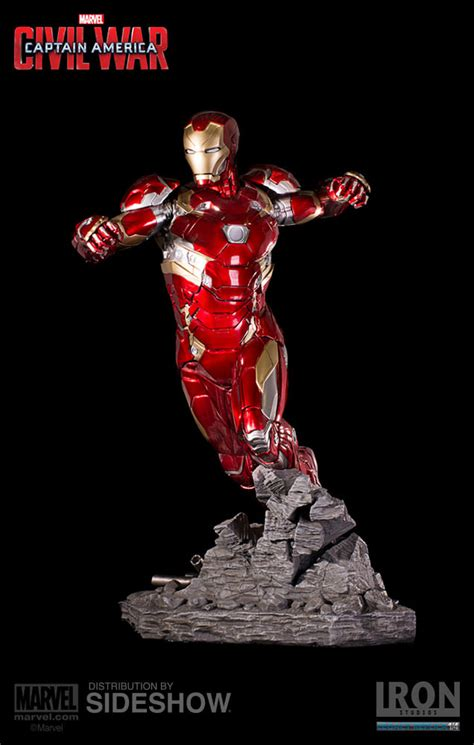 iron man marvel studios marvel iron man mark xlvi statue by iron studios