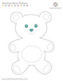 booboo bear pattern
