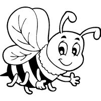 bee 187 coloring pages 187 surfnetkids