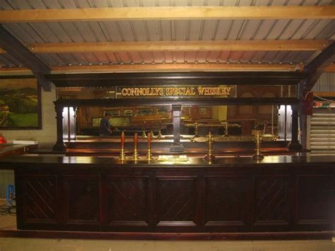 Used Bar Counter For Sale Secondhand Pub Equipment Lounge And Bar Mahogany Bar
