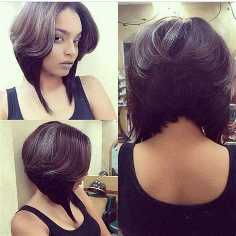 short bobs with body african american layered hair styles a collection of hair