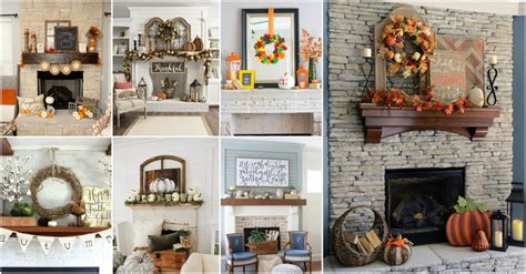 15 fall mantel decor ideas to create cozy atmosphere in