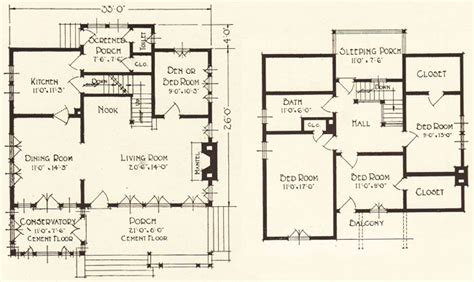 Swiss Chalet Floor Plans by 1922 Geneva Lewis Manufacturing Swiss Chalet Bungalow