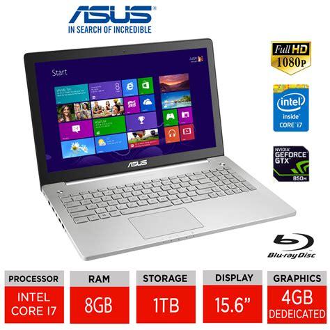 Asus N550jk Ds71t Gaming Laptop Intel I7 4700hq asus n550jk 15 6 quot gaming laptop intel i7 4700hq 8gb ram 1tb hdd ebay