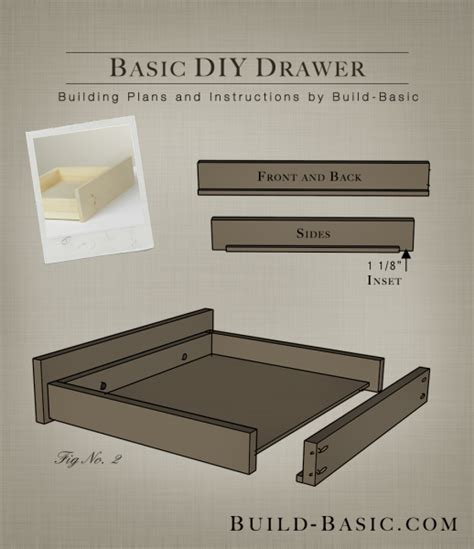 Diy Drawer build a basic diy drawer build basic