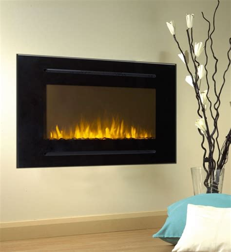 how to install an electric fireplace 40 inch forte wall recessed electric fireplace in black
