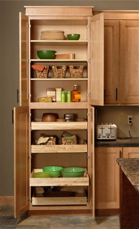 kitchen cupboard furniture pantry cabinet cliqstudios traditional
