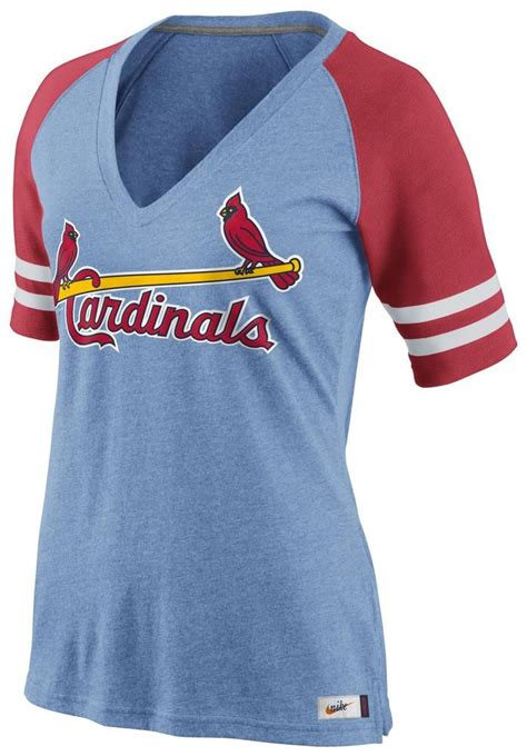 light blue baseball shirt st louis cardinals nike t shirt cardinals light blue red