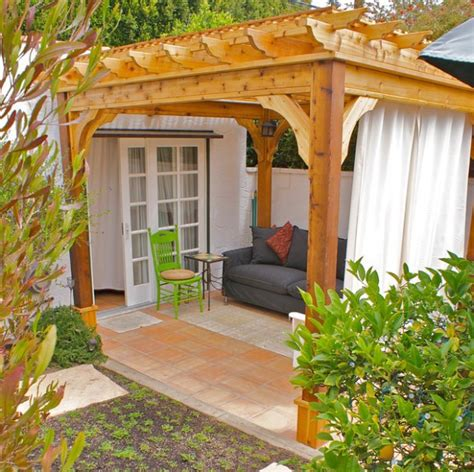Pergola With Curtains A Of Heaven In Your Backyard 17 Pergola Curtain Decorating Ideas Style Motivation