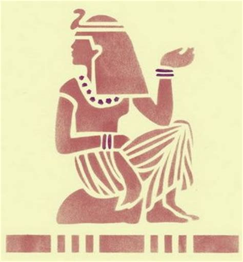 printable egyptian stencils pinterest the world s catalog of ideas