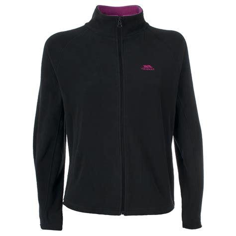fleece zip jackets trespass womens arden zip up fleece jacket ebay