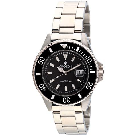croton men s diver s sports quartz watches