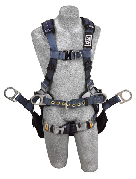 medium harness dbi sala exofit xp tower climbing harness medium model 1110301 engineered fall