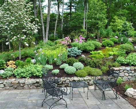 Design Of Landscaping Ideas For Steep Hills Steep Hill Steep Hill Backyard Ideas