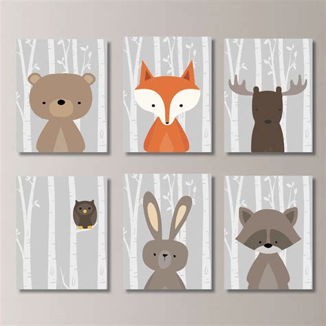 Forest Nursery Decor Palmyralibrary Org Forest Nursery Decor