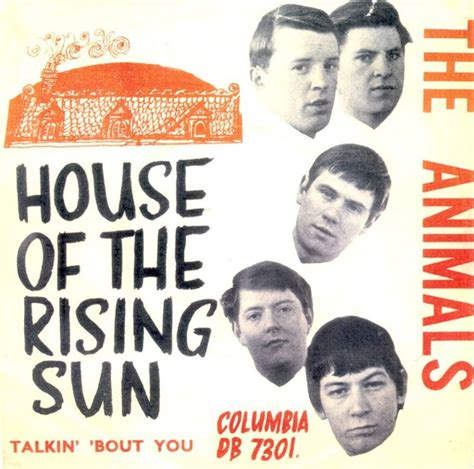 the animals house of the rising sun 45cat the animals house of the rising sun talkin bout you columbia denmark