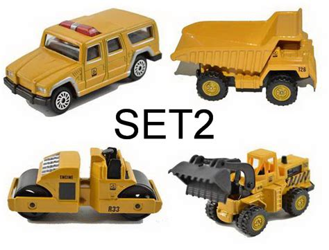 Mainan Die Cast Mini Contruction Car 4pcs buy wholesale excavator construction from china excavator construction wholesalers
