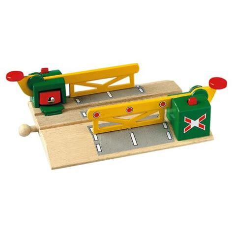 brio wooden toys buy brio classic magnetic action train crossing wooden