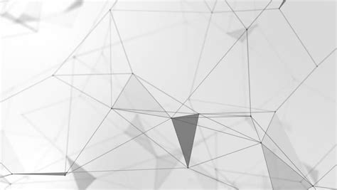 network pattern definition abstract flying glow triangle shape particles with lines