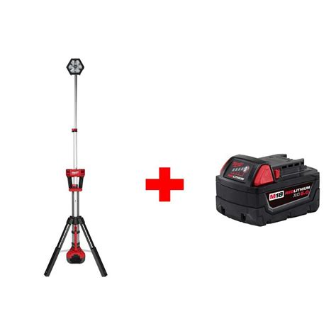 Milwaukee Led Light by Milwaukee M18 18 Volt Lithium Ion Cordless Rocket Led