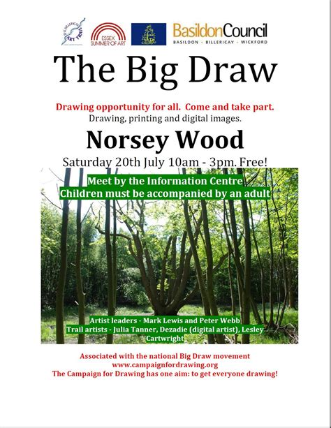 Adeliza Big the big draw norsey wood commission4mission