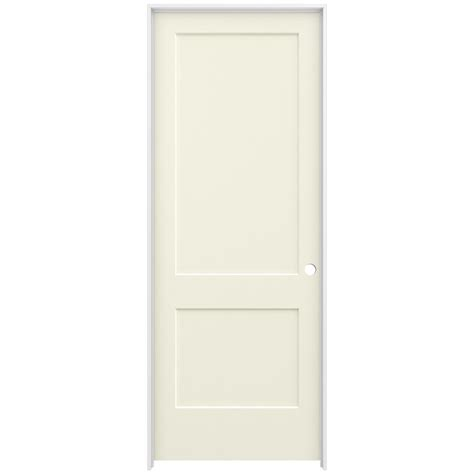 Jeld Wen 36 In X 96 In Smooth 2 Panel French Vanilla 96 Interior Doors