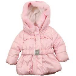 garderobe baby mayoral mayoral baby pale pink belted coat pink