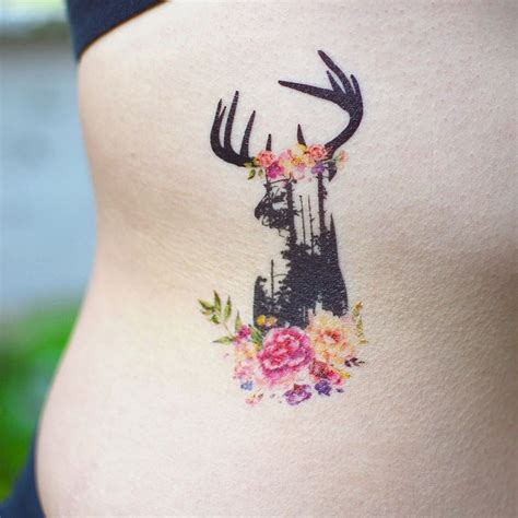 deer watercolor tattoo 25 best ideas about abstract watercolor tattoos on