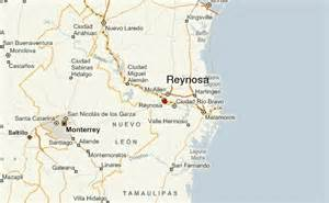 Reynosa Mexico Map reynosa location guide