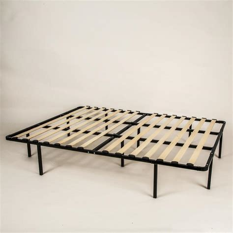 Wooden Box Bed Frame Therapy Smartbase Myeuro Wooden Slats Mattress Foundation Home Mattresses