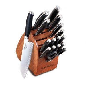 top 10 calphalon knife set reviews 2018 buying guide