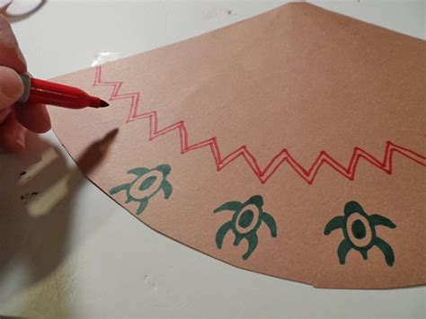 How To Make A Teepee Out Of Paper - paper teepee decorations for thanksgiving make and takes