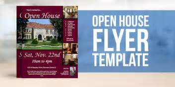 free open house flyer template open house flyer template 30 free psd format free