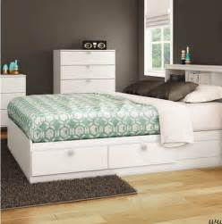Size Bed Frames With Storage Drawers Size White Platform Bed Frame With 4 Storage Drawers