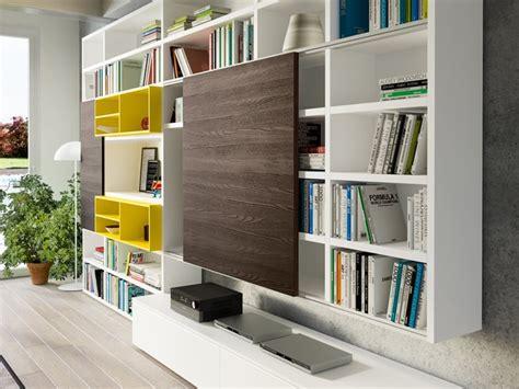 librerie a lodi soggiorno mobili libreria a spalla laccato opaco pareti
