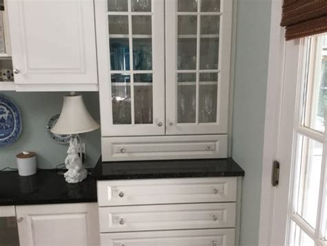 kitchen cabinets that sit on countertop replacing granite countertop with existing cabinets