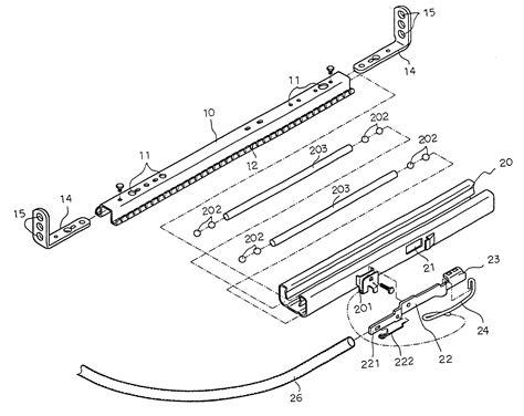 car seat structure patent us6264159 universal car seat adjusting slide rail