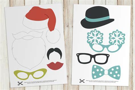printable xmas photo props free fun printable christmas props wedding stationery