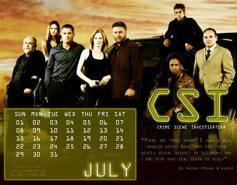 Csi Calendar Csi Calendar 2007 Csi Photo 4386879 Fanpop
