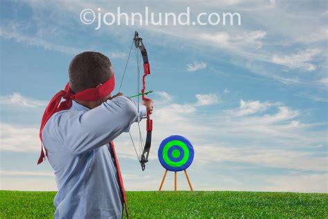 St Arrow Blin blindfolded archer